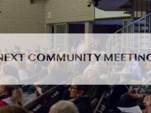 Next Community Meeting